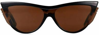 Slip & Slide - Black and Dark Tort/Brown Lenses