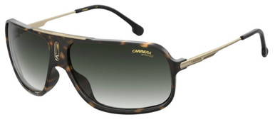Cool 65 - Havana/Green Gradient Lenses