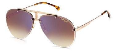 1032/S - Gold Copper/Brown and Blue flash Mirror Lenses