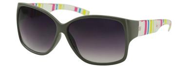 Trouble - Grey Coloured Stripe/Smoke Gradient Lenses