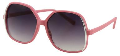Missy - Pink/Smoke Gradient Lenses