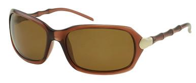Ariel - Brown/Brown Polarised Lenses
