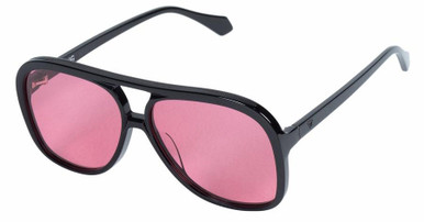 Gloss Black/Rose Lenses