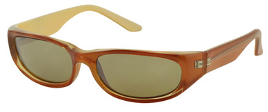 NOW007 - Brown/Brown Mirrored Lenses