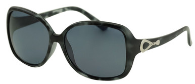 Pearl - Black Shiny Tort/Smoke Polarised Lenses