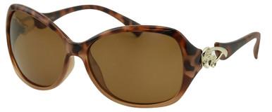 Heena - Brown Tort/Brown Polarised Lenses