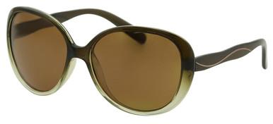 Lana - Brown Gradient/Brown Polarised Lenses