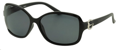 Akahi - Black/Smoke Polarised Lenses