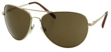 CE3 Aviator - Gold/Brown Lenses