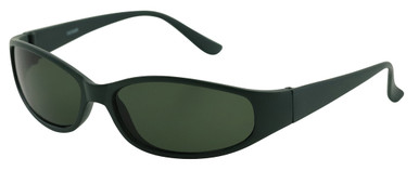 Matte Dark Green/Smoke Lenses