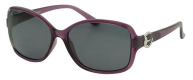Akahi - Purple/Smoke Polarised Lenses