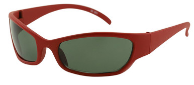 SE001 - Matte Red/Smoke Lenses