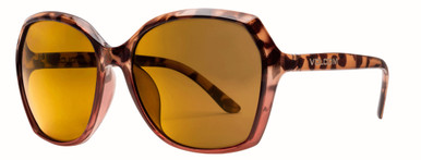 Psychic - Gloss Tort and Pink/Gold Mirror Polarised Lenses