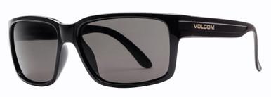 Stoneage - Gloss Black/Grey Polarised Lenses