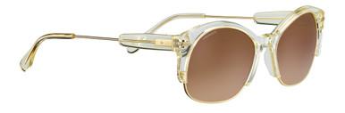 Shiny Champagne Translucide Acetate/Min Drivers Grad Polarised Lenses