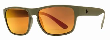 Valient - Matte Drab/Heat Mirror Lenses