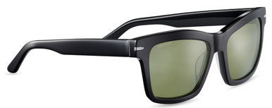 Winona - Shiny Black/Mineral 555nm Polarised Lenses
