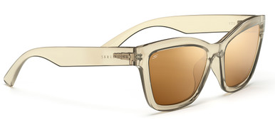 Crystal Champagne/Spirit Drivers Gold Polarised Lenses