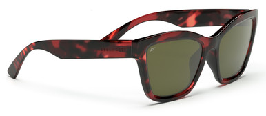 Rolla - Shiny Red Tortoise/Spirit 555nm Polarised Lenses