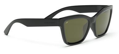 Rolla - Shiny Black/Spirit 555nm Polarised Lenses