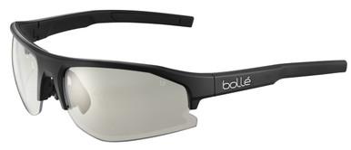Black Matte/Clear Platinum Lenses