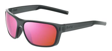 Black Crystal Matte/Brown Pink Polarised Lenses