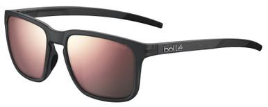 Score - Black Crystal Matte/Brown Pink Polarised Lenses