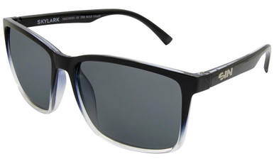 Black and Clear/Smoke Polarised Lenses