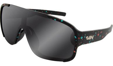 Rogue - Black Cosmic/Smoke flash Polarised Lenses