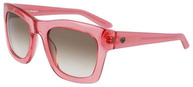 Waverly - Rose Crystal/Brown Gradient LL Lenses