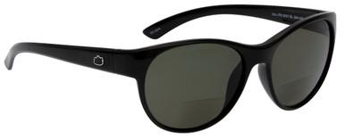 Black/Bifocal +1.5 Smoke Polarised Lenses