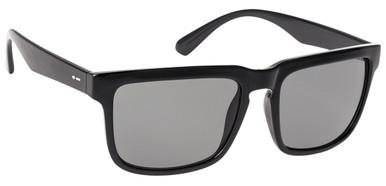 Black Gloss/Grey Lenses