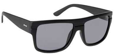Black Satin/Grey Polarised Lenses