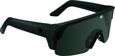 Monolith 5050 - Matte Black/Happy Grey Green Polarised Black Spectra Mirror Lenses