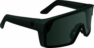 Monolith - Matte Black/Happy Grey Green with Black Spectra Mirror Lenses
