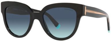 TF4186 - Black/Azure Gradient Blue Lenses