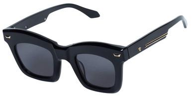 Gloss Black and 24K Gold/Black Lenses