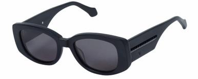 Sid - Matte Black and Gloss Black/Black Lenses
