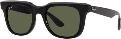 Black Transparent Black/Dark Green Polarised Lenses