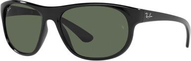 RB4351 - Black/Dark Green Lenses
