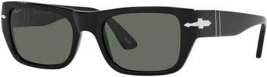 PO3268S - Black/Green Polarised Lenses