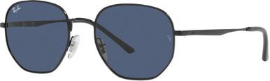Black/Dark Blue Lenses