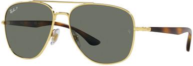 RB3683 - Arista/Green Polarised Glass Lenses