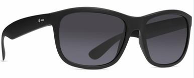 Black Satin/Grey Lenses