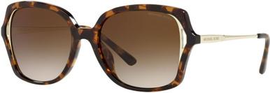 INTERLAKEN MK2153U - Bio Dark Tortoise/Brown Gradient Lenses