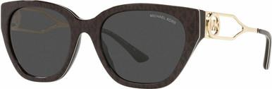 LAKE COMO MK2154 - Brown Signature PVC/Dark Grey Lenses