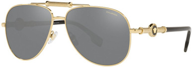 Gold/Grey and Silver Mirror Polarised Lenses