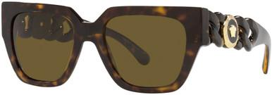 VE4409 - Havana/Dark Brown Lenses