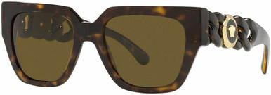 VE4409F - Havana/Dark Brown Lenses