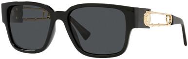 VE4412 - Black/Dark Grey Lenses